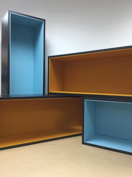Gainage intérieur de tiroirs en Feutrine