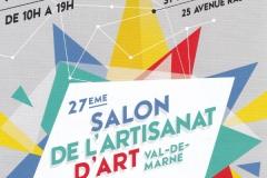 Expo Salon de l'Artisanat d'Art