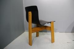 Réfection chaises en cuir Végétal coloris Noir
